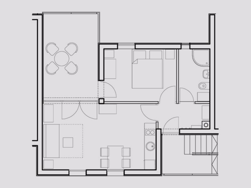 Lele Dubrovnik Apartment Plan